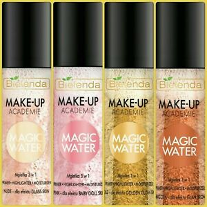 Bielenda Magic Water Face Body Mist 3in1 Primer Highlighter Moisturiser 150ml
