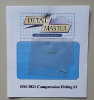 COMPRESSION FITTING #1 1:24 1:25 DETAIL MASTER CAR MODEL ACCESSORY 3021