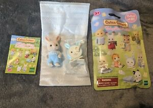 New (Open Bag) Calico Critters Baby Band Series - Henry Sweetpea Rabbit - Epoch