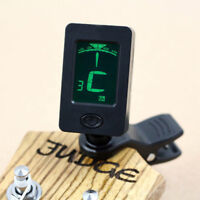 Chromatic Clip-On Digital Tuner for Acoustic Electric Guitar Bass Violin Ideal E