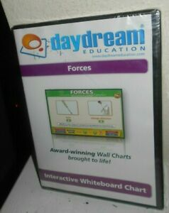 Daydream Education Forces Interactive Whiteboard Chart New Sealed Free Shipping