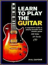 BLUES ROCK E-GUITAR & ACOUSTIC 50 Track CD Workbook 258 Pages A-Z Plek & Zupfing