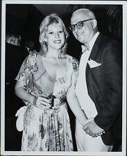 George Christy (Reporter), Meredith Mac Rae ORIGINAL PHOTO HOLLYWOOD Candid