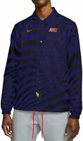 Nike Sportswear Air Max Mens Coaches Jacket CW4751-590 Windbreaker Size 2XL XXL