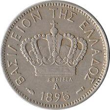 1895 Greece 10 Lepta Coin KM#59