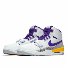 wholesale dealer bad71 1545b NIKE AIR JORDAN LEGACY 312 LAKERS MEN S  SIZE 11  AV3922-157 WHITE