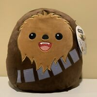 "Kelly Toys Disney CHEWBACCA Squishmallow 10"" Plush 2020 Cuddly FREE SHIPPING"