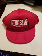 Vintage 80s Boxing Hat - Ringside Products - Adult Trucker Snapback