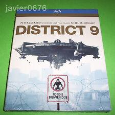 DISTRICT 9 BLU-RAY NUEVO Y PRECINTADO