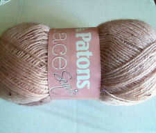 Patons Lace Sequin Yarn  Mohair Blend  Pink Diamond  Weight #2