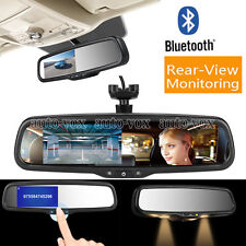 "Auto Vox 4.3""Rear View Mirror Monitor Bluetooth Handsfree Call with OEM Bracket"
