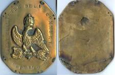 Plaque de métier - CORNAND garde champêtre EMPIRE Napoléon 1er bronze 135 gramme