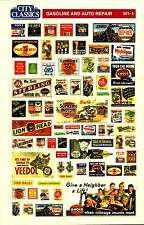 City Classics-HO Scale -- #501-04 – Gas Station Signs
