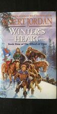Robert Jordan Winter's Heart Wheel of Time First Edition Hardback 2000 SIGNED