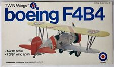 "Entex Twin Wings Boeing F4B-4 Mpn #8518B 1/48Th Scale 7 3/8"" Wing Span"