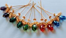 Mini Kit - Angel Pendant Kit - Makes 10 - Mixed Colours & GP Findings