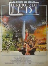 RETURN OF THE JEDI - STAR WARS - LUCAS - ORIGINAL LARGE FRENCH MOVIE POSTER