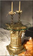 Säulen Beistelltisch Antik Säule Telefontisch Blumentisch Kaffetisch Glastisch