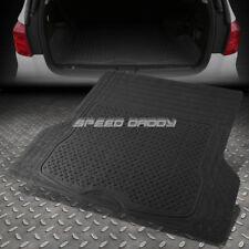 ALL WEATHER/SEASON HEAVY DUTY ABS BACK TRUNK/CARGO 3D FLOOR MATS TRUCK/SUV BLACK