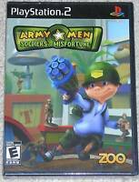 PlayStation 2 - Army Men Soldiers of Misfortune (New)