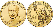 2014-D  WARREN G. HARDING  PRESIDENTIAL DOLLAR COIN