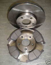 MK2 FORD FOCUS FRONT BRAKE DISCS + PADS 1.4 1.6 1.8 (278mm) NEW COATED DESIGN