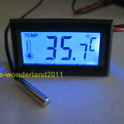 1pcs LCD Digital Thermometer Temperature PC MOD Meter Gauge For 3D Printer