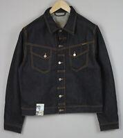 RRP £136 NUDIE JEANS CONNY DRY VARIANT Mens XX LARGE Denim Blazer Jacket 1952*mm