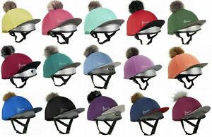 LeMieux Hat Silk, Detachable Pom Pom