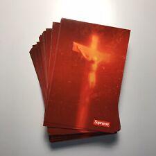 Supreme Piss Christ Sticker 100% AUTHENTIC SUPREME STICKER BOX LOGO