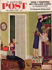 1957 Saturday Evening Post December 7 - Montana; Virginia City; Toyland;Football
