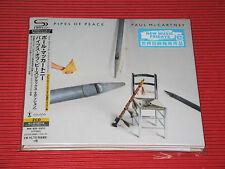 PAUL McCARTNEY Pipes Of Peace DELUXE EDITION  JAPAN 2 SHM DIGI SLEEVE CD