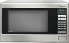 New Panasonic 1.2 cu.ft Countertop Microwave in Stainless Nn-Sn661S