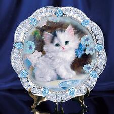Blue Eyed Beauty Cat / Kitten Plate  - Bradford Exchange