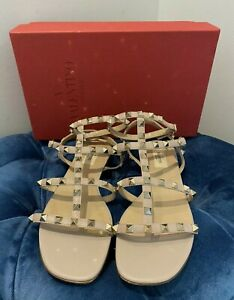 Authentic Valentino rockstud Sandals Size 39