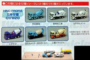 BANDAI 1/150 Workingvehicle Vol.6 Hino Profia mixer car GVW 20 * 6 Pcs