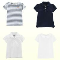 Oshkosh B'gosh Girls Short Sleeve Tops Knit Polos Tee Shirts Toddler Girls NWT