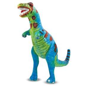"MELISSA & DOUG Posable T-REX Dinosaur 30"" Giant Plush Big Stuffed Large Toy"