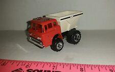 1/64 CUSTOM red Ford fs floater fertilizer or lime spreader truck ERTL FARM toy