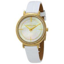 Michael Kors Cinthia White Mother of Pearl Dial Ladies Watch MK2662