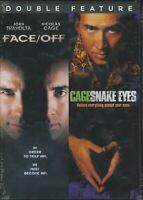 Face -Off / Snake Eyes  (DVD 2017) Nicolas Cage- John Travolta