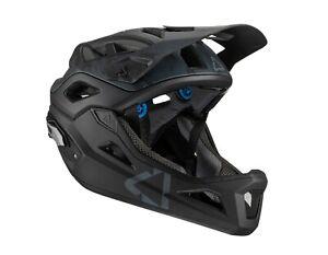 Leatt MTB 3.0 Enduro V21 Helmet Black, Steel MTB/BMX/Bike/Mountain 10210006**