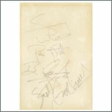 Thin Lizzy 1981 Autographs (UK)