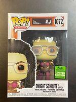 Funko Pop! TV The Office Dwight Schrute as Kerrigan #1072 ECCC Exclus- In Hand!!