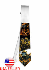 Bumblebee Transformers Movie Necktie Neck Tie Anime Manga Child Cosplay Gift