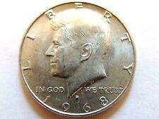 1968-D Kennedy Silver Half Dollar Coins