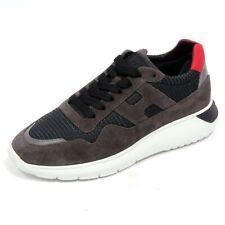 8086AB sneakers uomo HOGAN INTERACTIVE3 suede grey shoes men