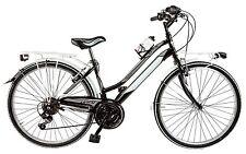 "Bicicletta City Bike GALANT 13 LY26C da ragazza 26"" acciaio shimano 18V bici"