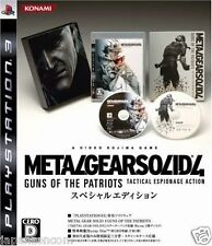 Used PS3 Metal Gear Solid 4 PLAYSTATION 3 SONY JAPAN JAPANESE IMPORT