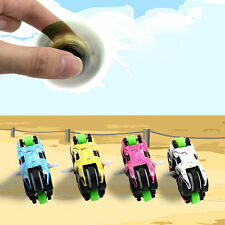 Mini Motorcycle Hand Spinner Fidget Finger Puzzle Spiral EDC ADHD Toys Kid/Adult